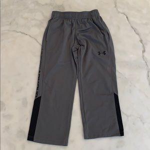 UA athletic pants. Gray. Sz YXS.